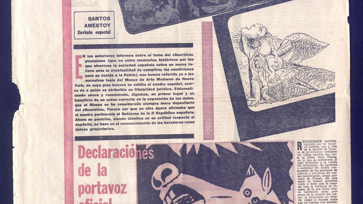 El Guernica es de los herederos de Picasso