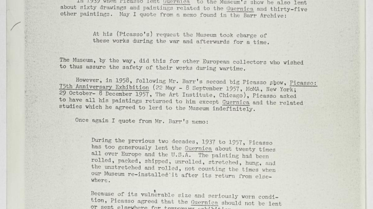 Carta de Rona K. Roob a Carleton Sprague Smith