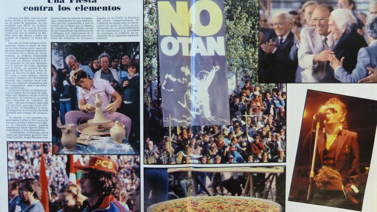 An event against Spain joining NATO