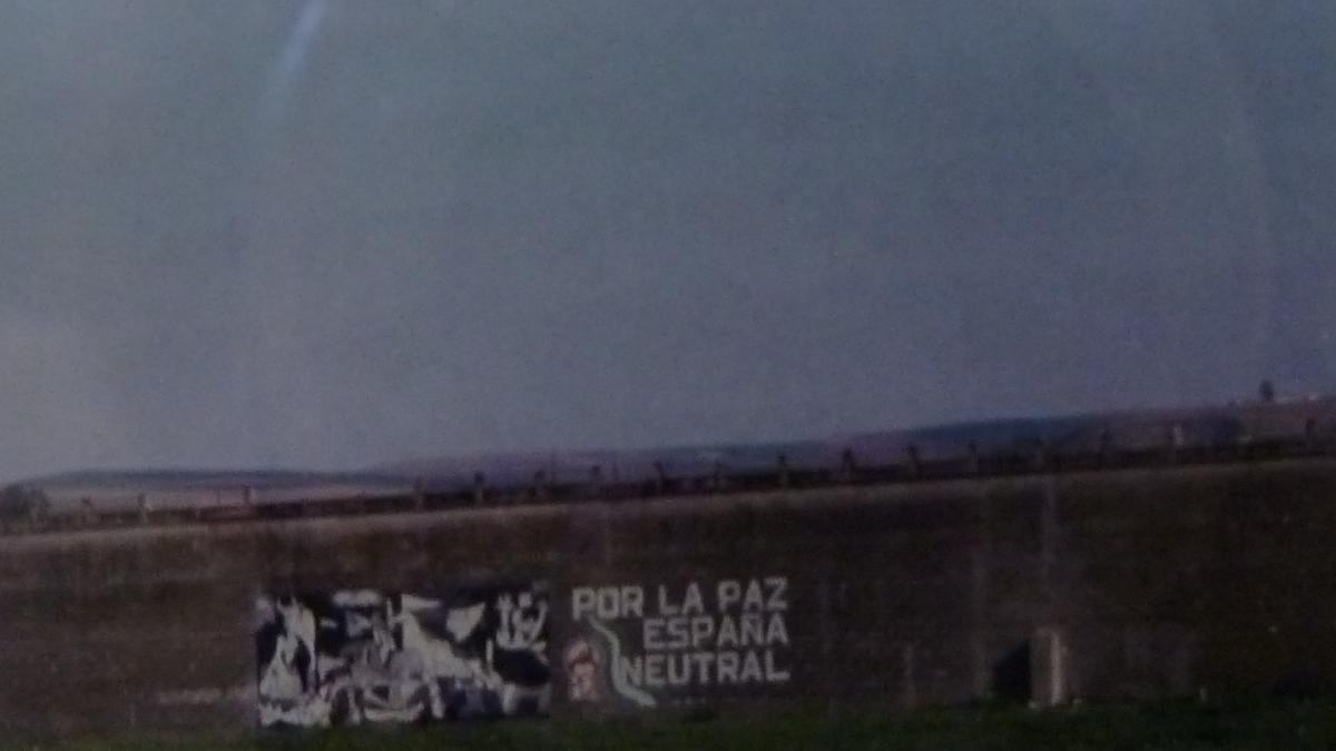 Por la paz España neutral