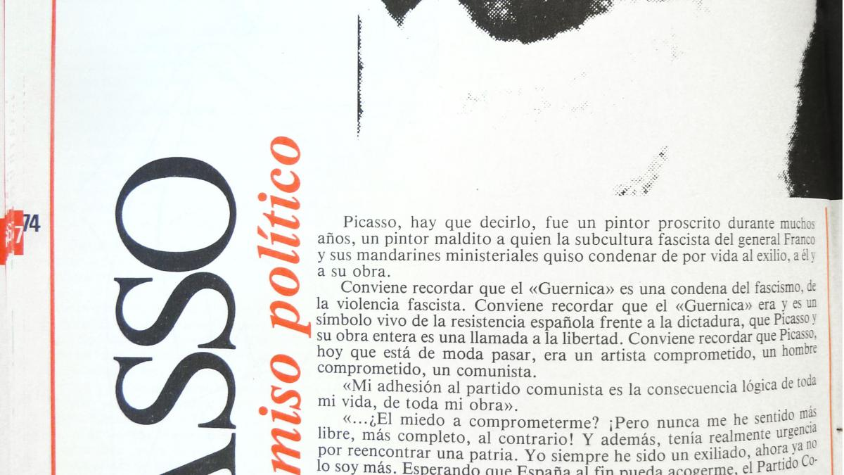 Picasso and Political Commitment