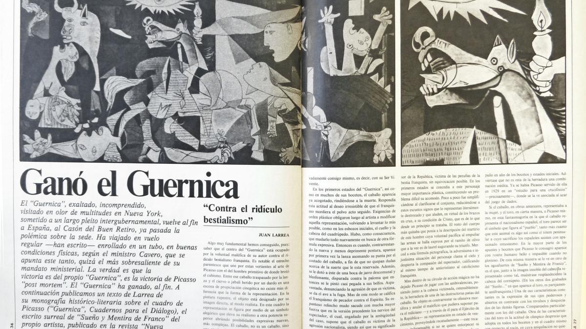 Guernica won