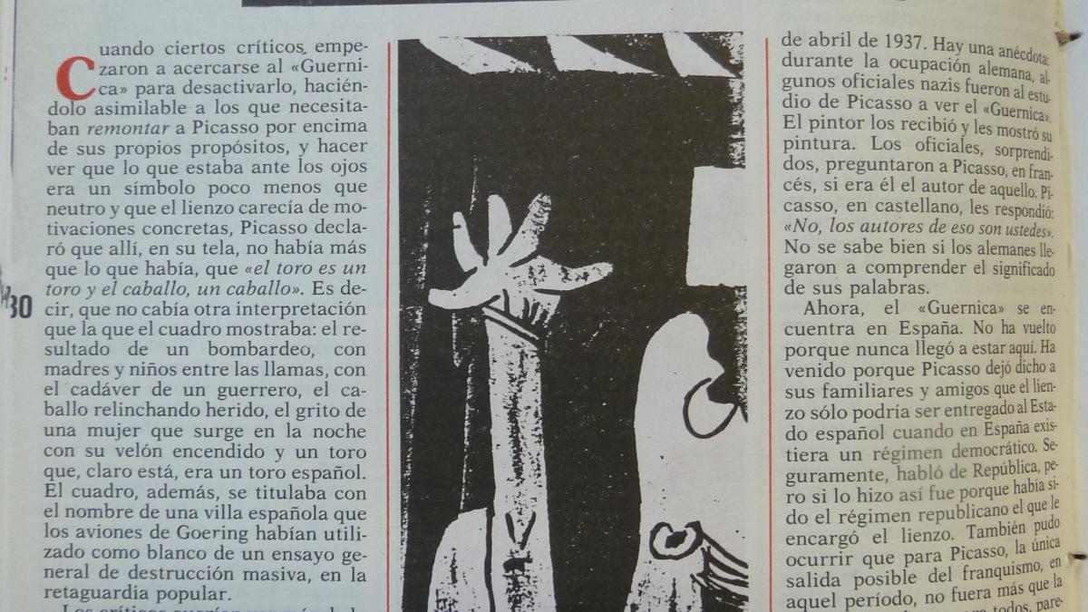 El encuentro entre el pueblo y Picasso