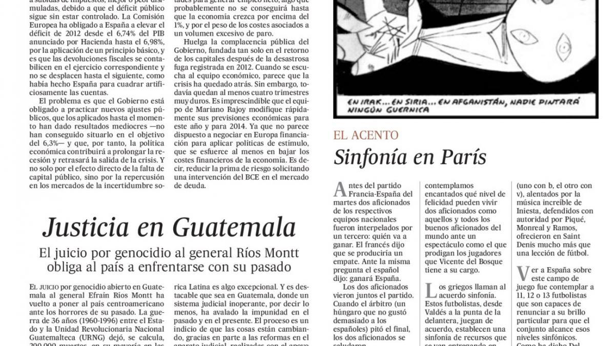 Ilustración de El Roto publicada en El País