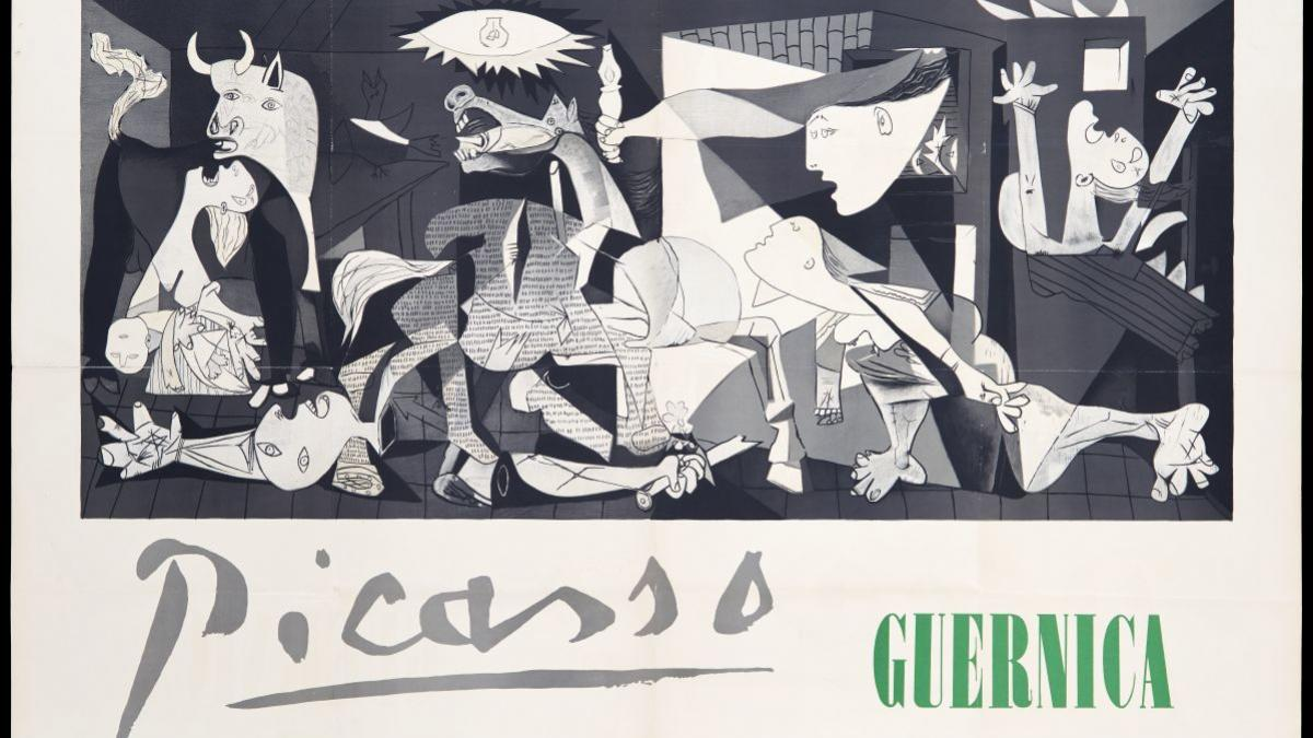 Picasso's Guernica , Stedelijk Museum, Amsterdam