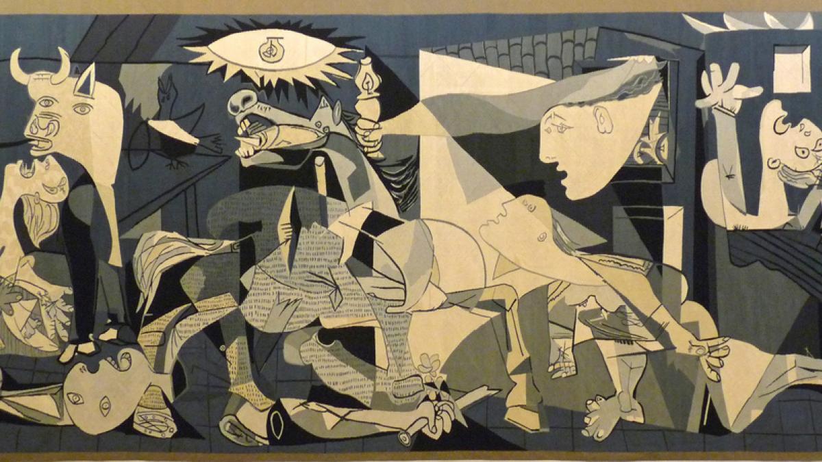 Tapestry replica of Guernica