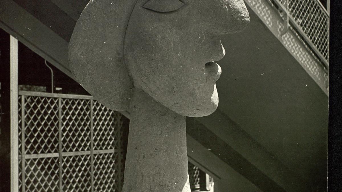 Cabeza de Marie Thèrèse instalada