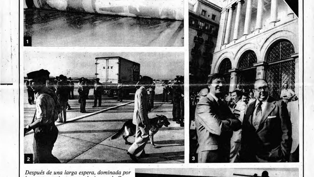 «Operación Guernica»: misión cumplida