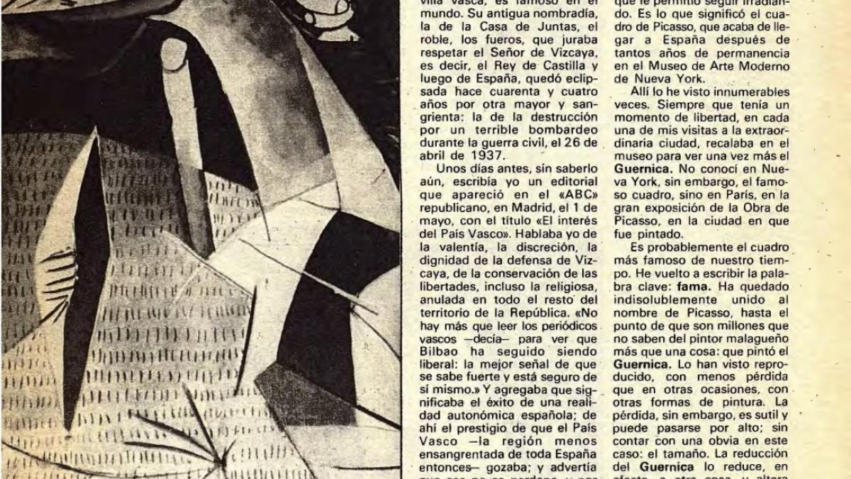 Guernica: pasión, mito y arte
