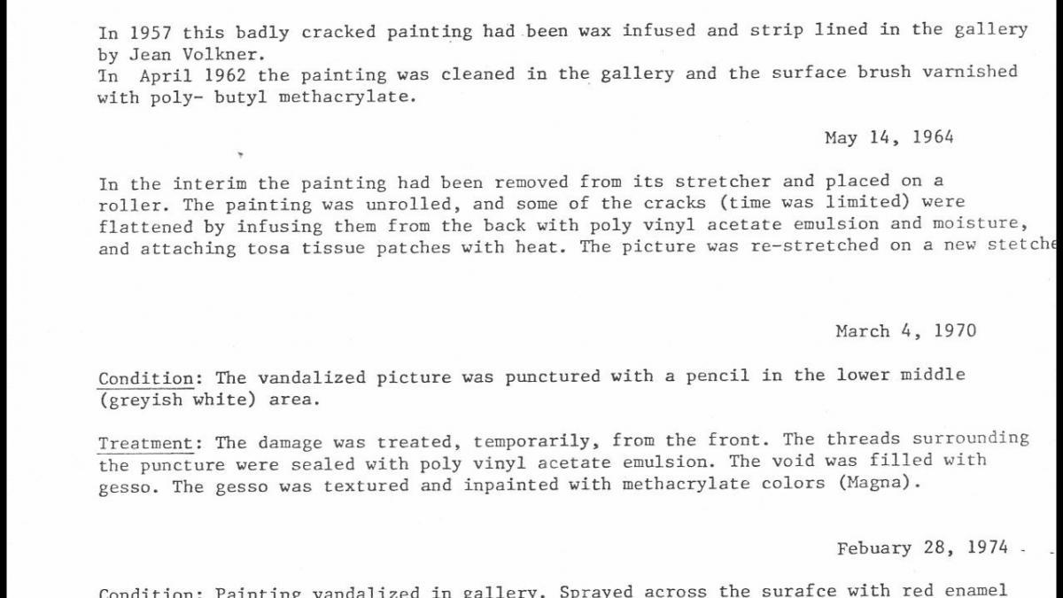 Informe del Museum of Modern Art de Nueva York