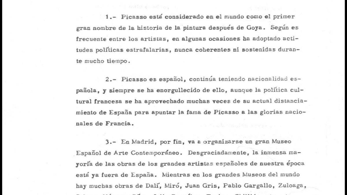 """Posible recuperación del """"Guernica"""" de Pablo Picasso"""