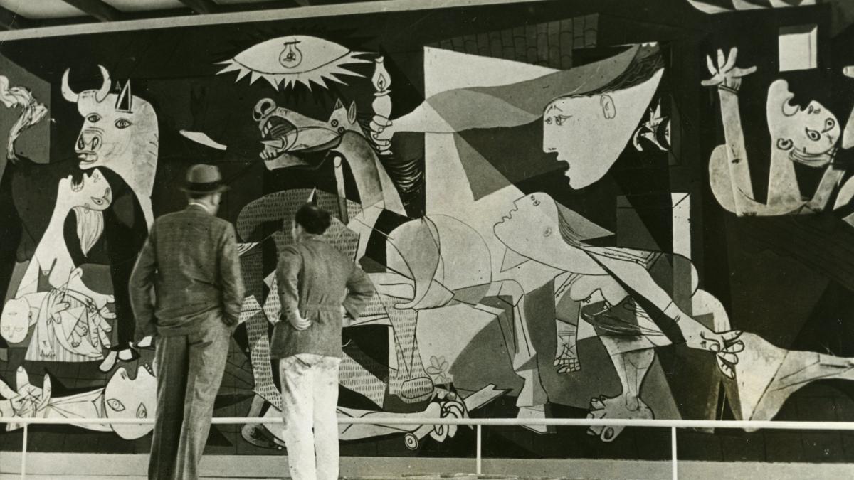 Guernica en la Exposición Internacional de París 1937