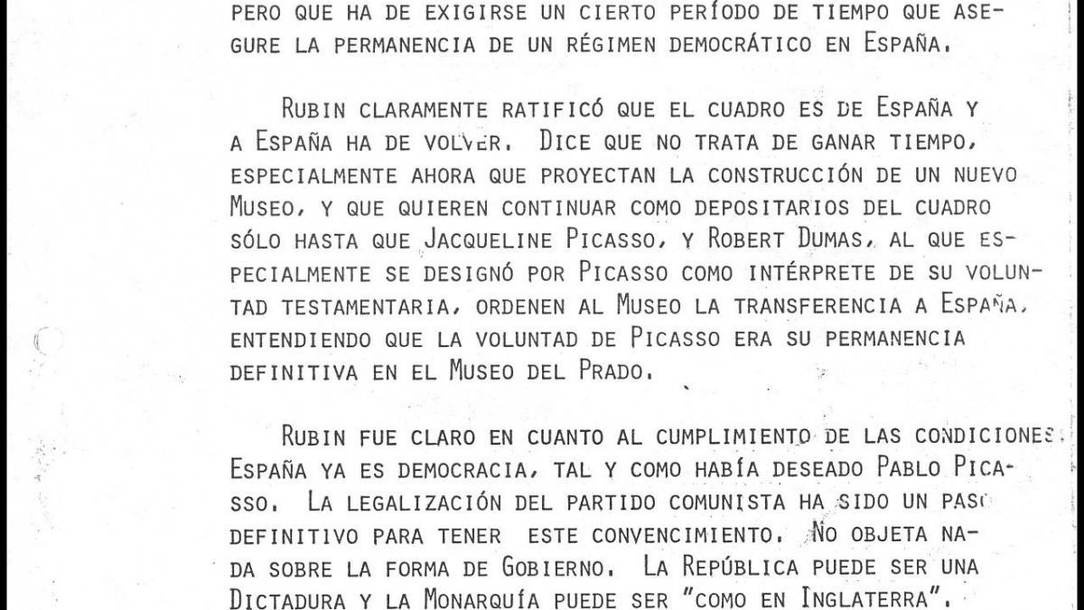 Conversation between José Mario Armero and William Rubin