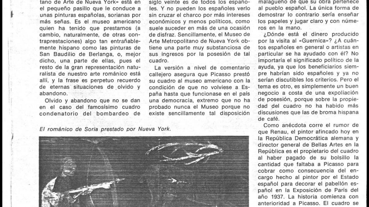 Guernica: ¡vuelve a casa!