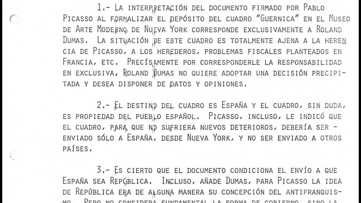 Resumen del encuentro de José Mario Armero con Roland Dumas