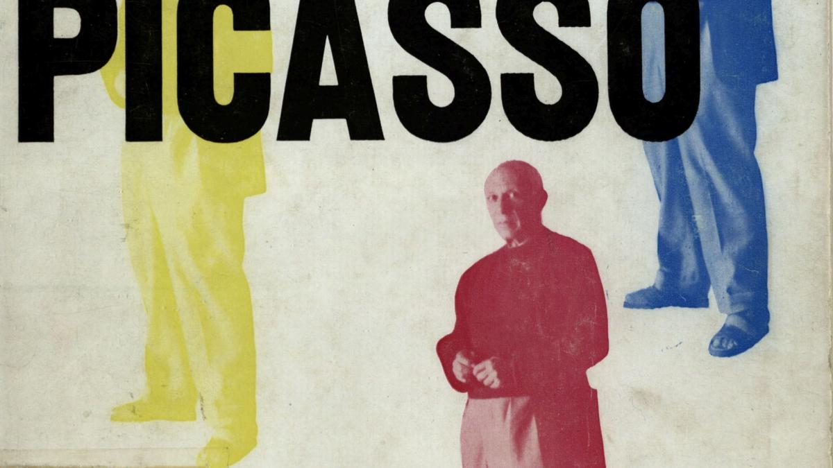 Exhibition catalogue for Picasso: peintures, 1900-1955