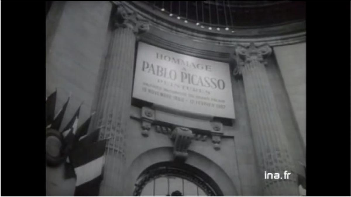 Homenaje a Picasso en el Grand Palais de París