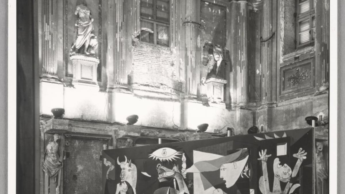 The Picasso exhibition at the Palazzo Reale, Milan