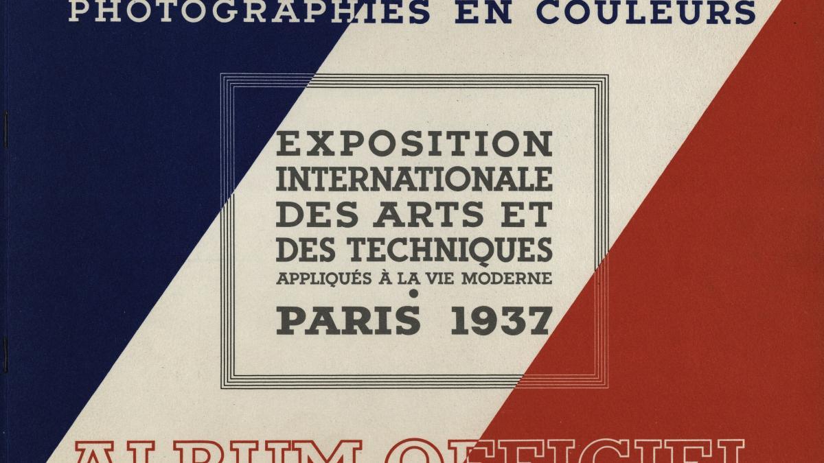 Exposición Internacional de las Artes y Técnicas para la vida moderna, París 1937. Album oficial, fotografias a color