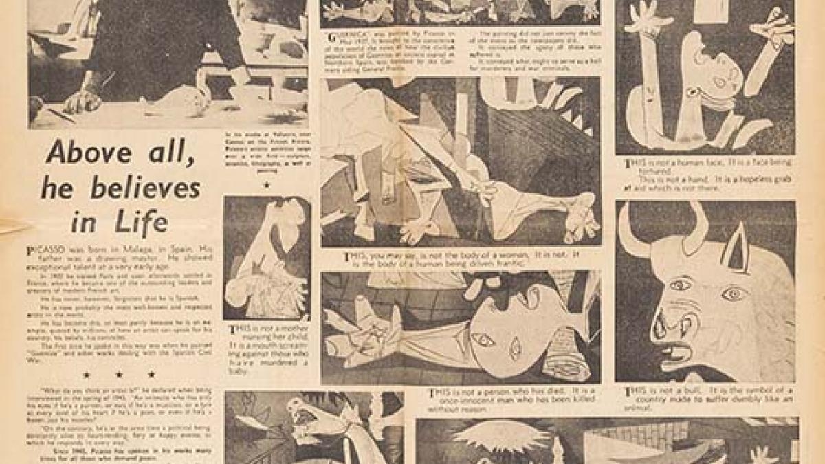 Picasso. La agonía de Guernica