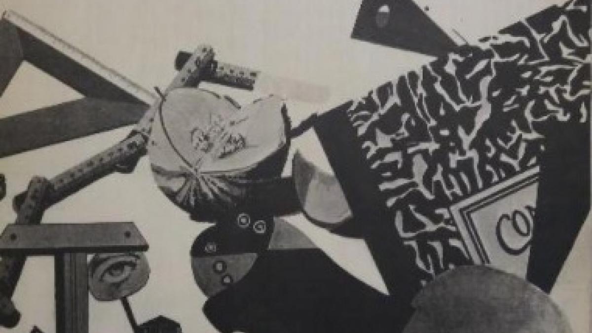 Carpeta catálogo de la exposición Equipo Crónica en el Musée d'Art Moderne de la Ville de Paris