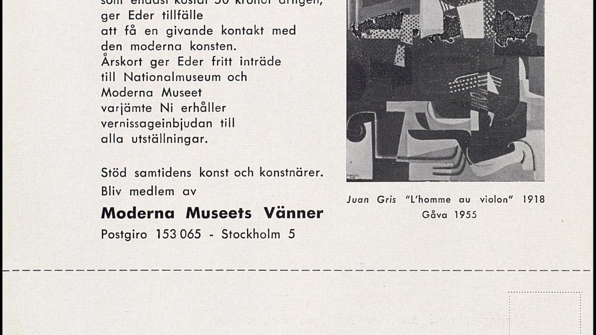 Amigos del Moderna Museet de Estocolmo