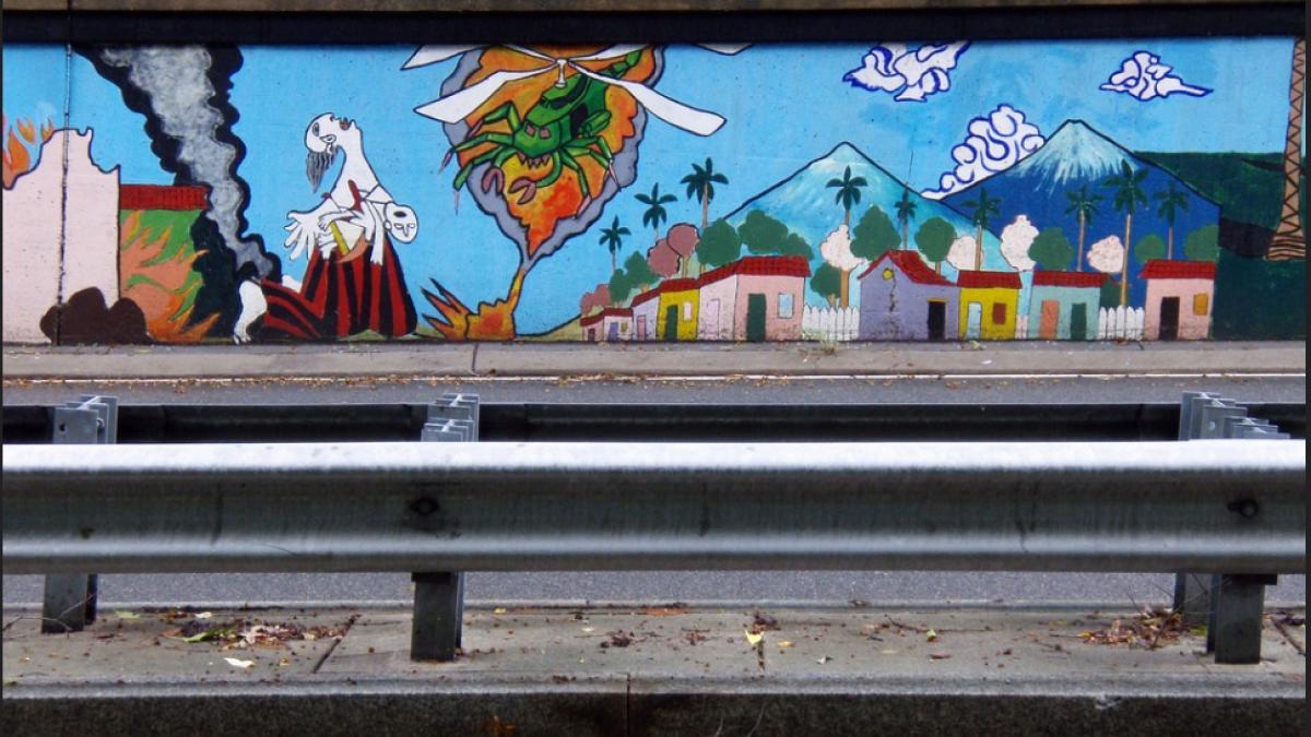 Klinge Road Mural