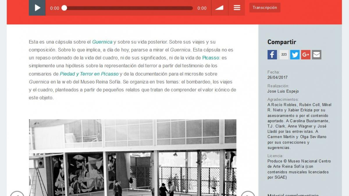 Guernica y la representación abstracta del terror